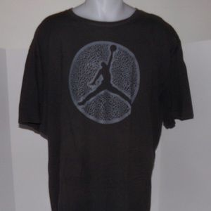 4e15a778373e20 nike air jordan shirt size 3XL XXXL black